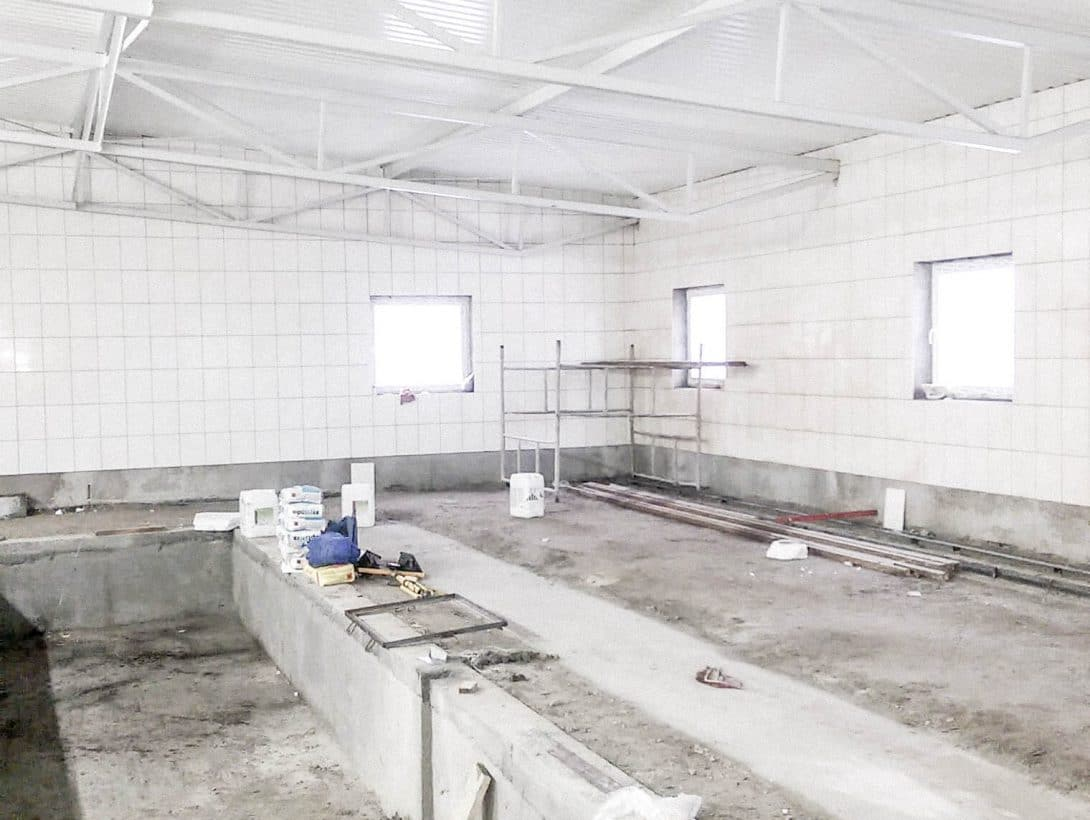 Zdjęcia z realizacji budowy dojni - Jarbet, Bydgoszcz.